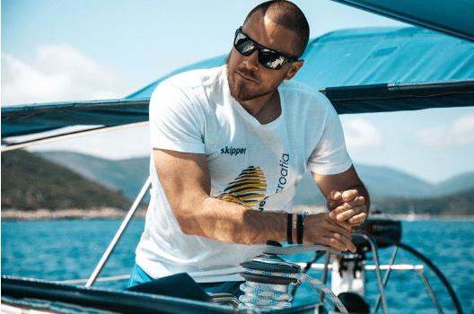 Skipper on the boat!!