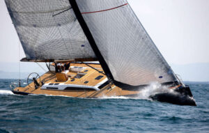 Sailing Aston Martin