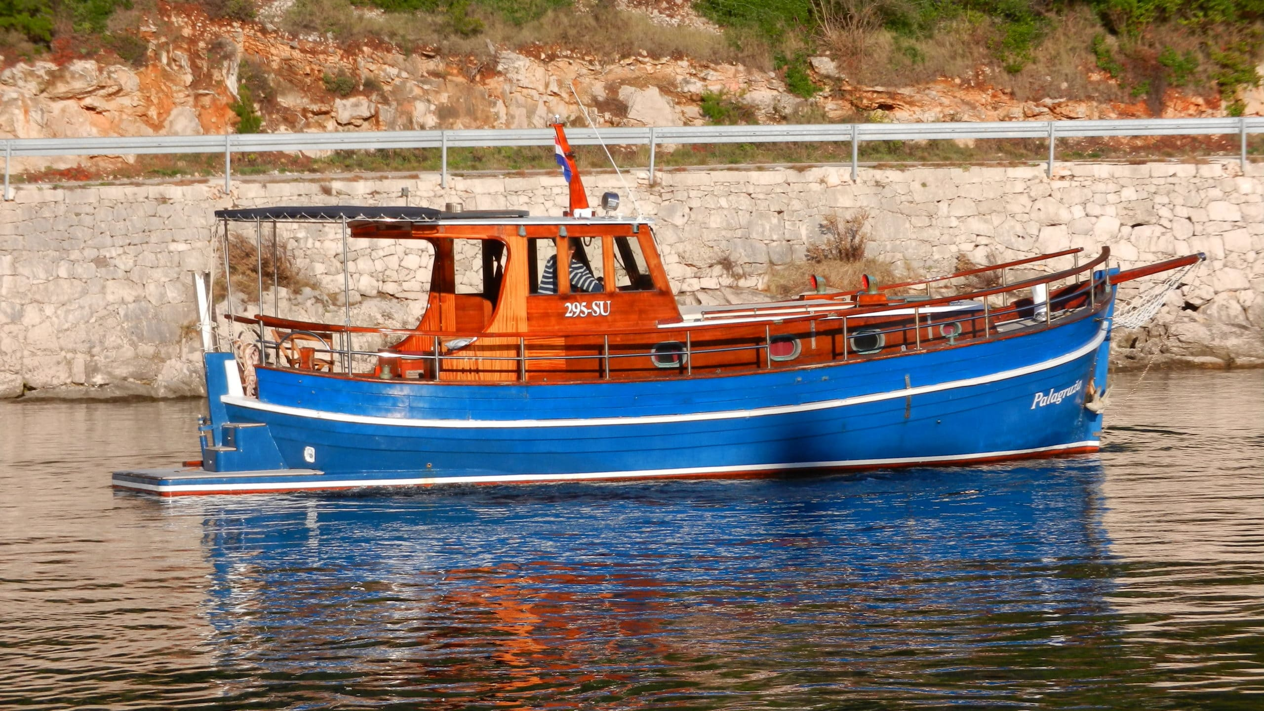 Our special offer this month – motor boat Palagruža