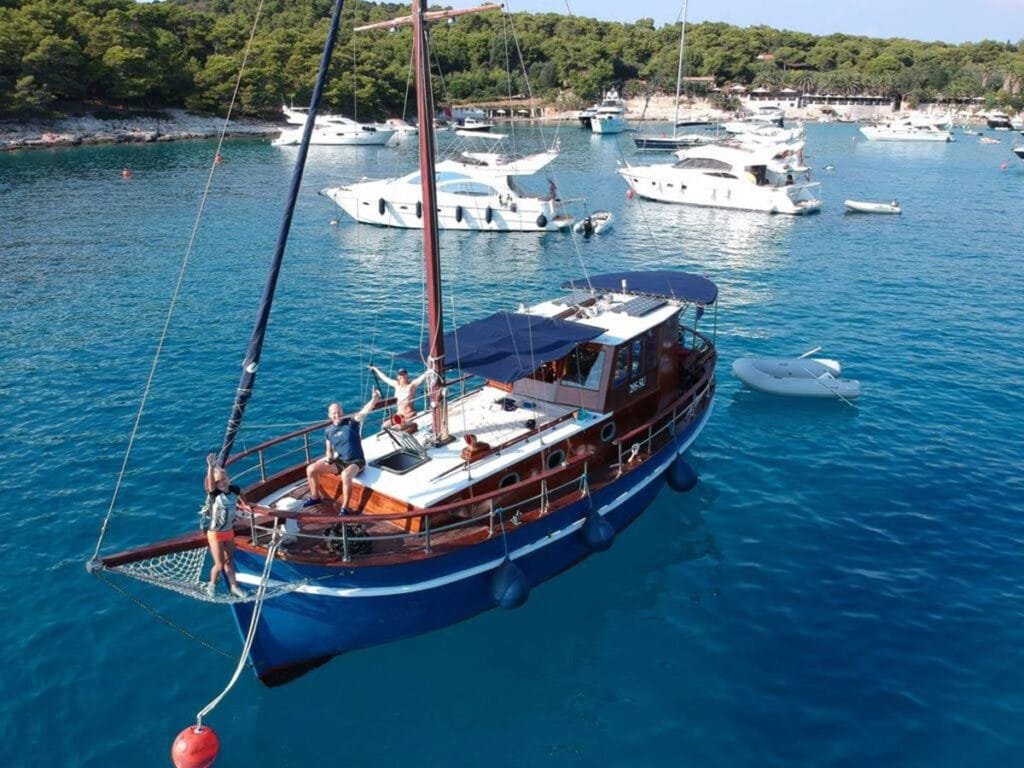 Our special offer this month - motor boat Palagruža