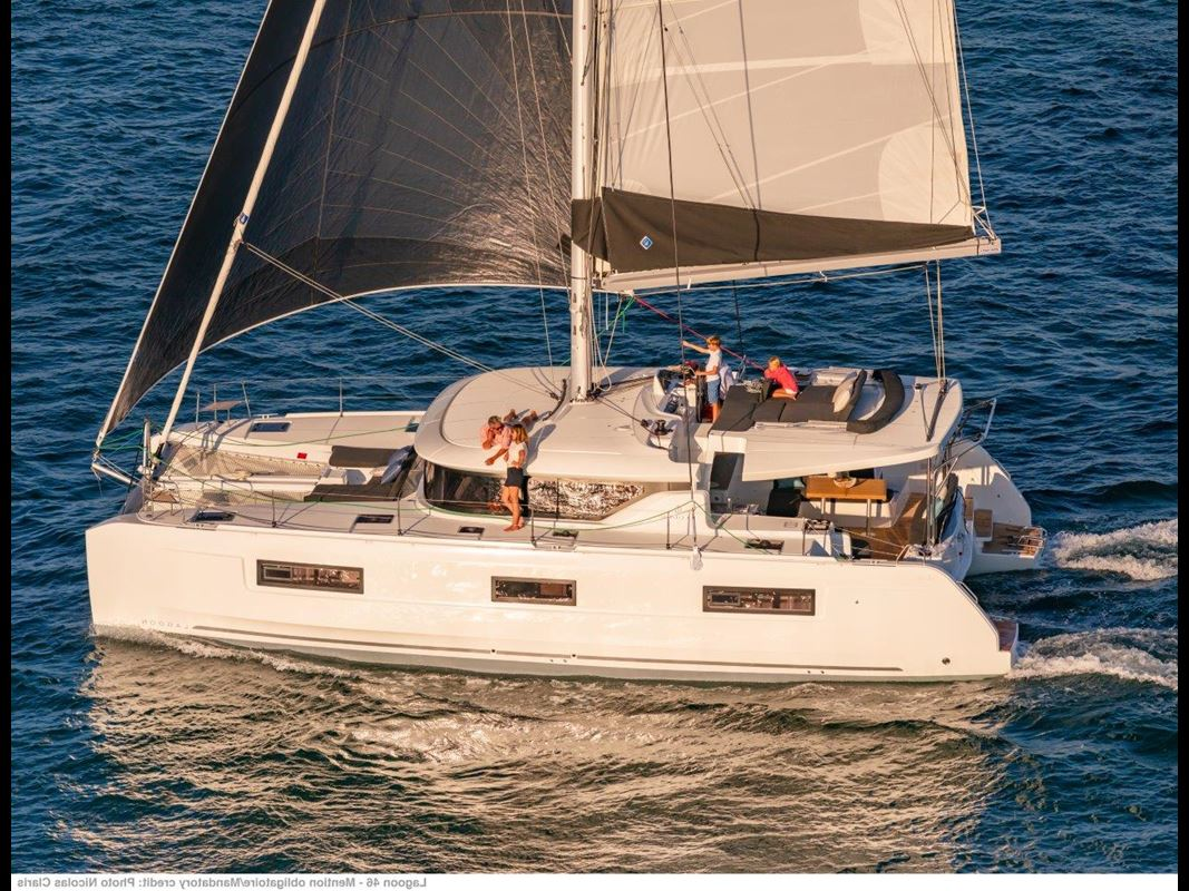 New arrival in our fleet for 2020: Lagoon 46!!