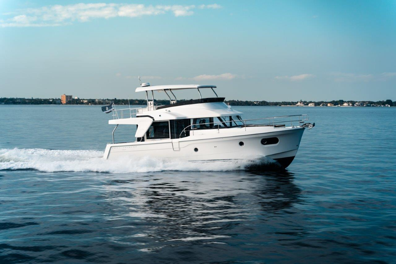 Swift Trawler 47 – for this summer vacation.