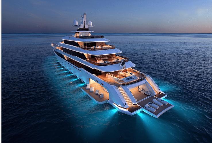 What makes a yacht, MEGA?